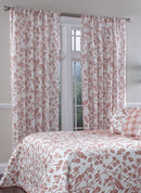 Botanica Rod Pocket Curtain Panel - Sienna