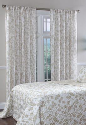 Botanica Rod Pocket Curtain Panel - Wheat