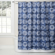 Waterfall Shower Curtain & Bathroom Accessories from Saturday Knight