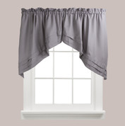 Holden kitchen curtain swag - Grey