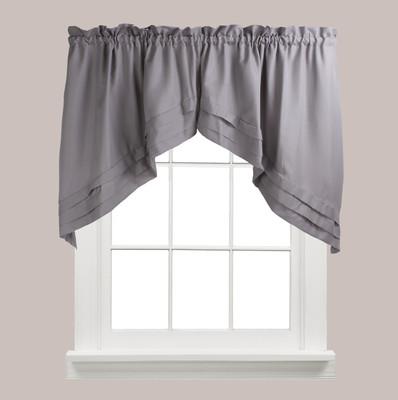Holden kitchen curtain swag - Grey