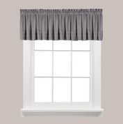 Holden kitchen curtain valance - Grey