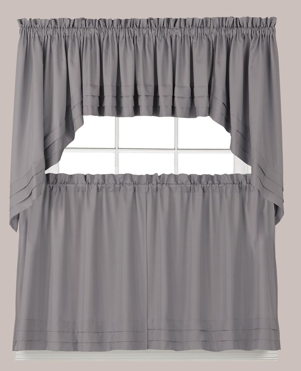 Holden Kitchen Curtain - Grey
