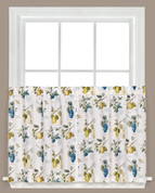 "Botanical Fruit 36"" kitchen curtain tier from Saturday Knight"