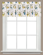 Botanical Fruit kitchen curtain valance from Saturday Knight