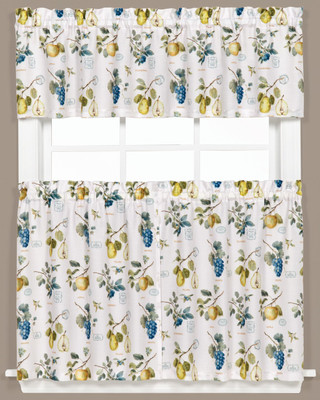Botanical Fruit Kitchen Curtain from Saturday Knight