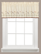 Live kitchen curtain valance from Saturday Knight