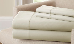 400 Thread Count Single Hole Hem Sheet Set 100% cotton - Linen