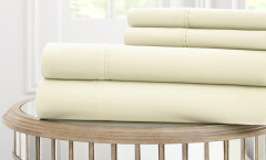 1000 Thread Count Solid Sheet Set 100% cotton - Ivory
