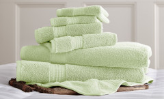 Luxury Spa Collection 6 piece towel SET - Jade