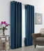 Darcy Insulated Grommet Top Curtain Panel - Teal