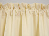 Contrail Insulated Rod Pocket Curtain pair - Ivory