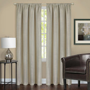 Harmony Blackout Rod Pocket Curtains - Tan