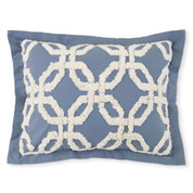 Holden Chenille Pillow Sham - Harbor Blue