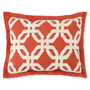 Holden Chenille Pillow Sham - Spice