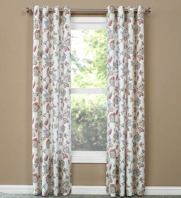 Collette Grommet Top Curtain - Jewel