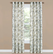 Collette Grommet Top Curtain - Linen