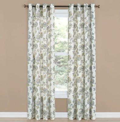 Collette Grommet Top Curtain - Linen