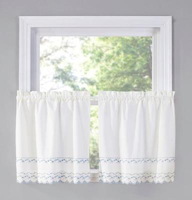"""Beverly 36"""" kitchen curtain tier (pr)"""
