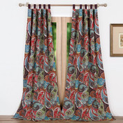Tivoli tab top curtain pair