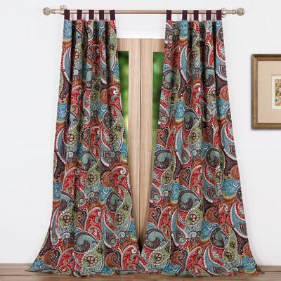 Tivoli tab top curtain pair