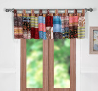 Bohemian Dream tab top valance