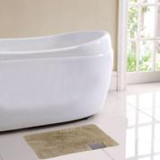 Ibiza Bath Rug - Beige
