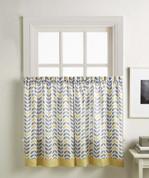 "Savannah 36"" kitchen curtain tier - Gold from CHF"