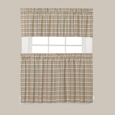Dexter Kitchen Curtain - Green