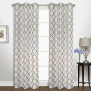 Georgia Grommet Top Curtain pair - Navy