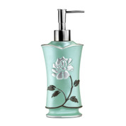 Avanti Lotion Dispenser - Aqua from Popular Bath