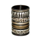 Safari Stripes toothbrush holder from Popular Bath