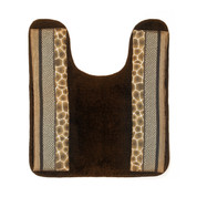 Safari Stripes contour rug from Popular Bath
