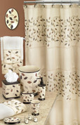 Aubury Shower Curtain & Bathroom Accessories - Beige from Popular Bath