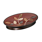 Aubury Soap Dish - Burgundy from Popular Bath