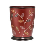Aubury Wastebasket - Burgundy from Popular Bath