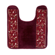 Aubury contour rug from Popular Bath - Burgundy