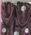 Avanti shower curtain with valance - Purple from Popular Bath