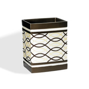 Harmony Wastebasket - Chocolate from Popular Bath
