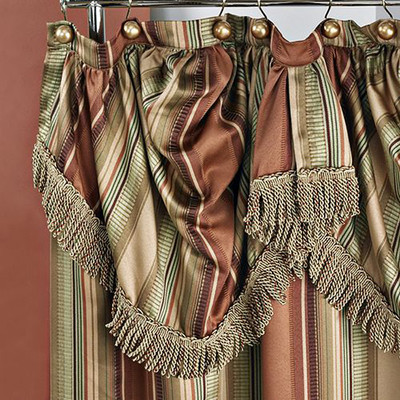 Contempo Shower Curtain - Multi from Popular Bath