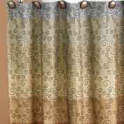 Miramar Shower Curtain from Popular Bath (shower hooks not included)