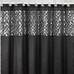 Mosaic Shower Curtain - Black from Popular Bath