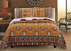 Farrah Quilt SET from Greenland Home Fashions