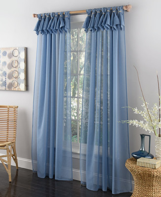 """Breeze Tab Top Curtain Panel 63"""" long from Lorraine Home Fashions"""