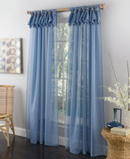 "Breeze Tab Top Curtain Panel 84"" long from Lorraine Home Fashions"