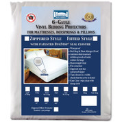 "Vinyl Zippered Bed Bug Proof Encasement - 9"" deep"
