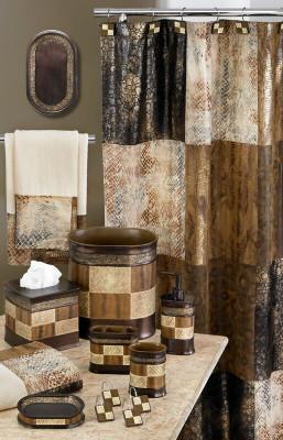 Zambia Shower Curtain & Bathroom Accessories