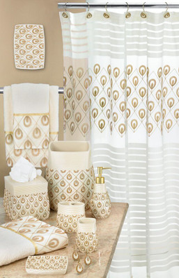 Seraphina Shower Curtain & Bathroom Accessories