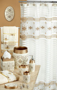 Savoy Shower Curtain & Bathroom Accessories