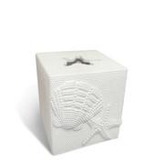 Shells tissue box cover
